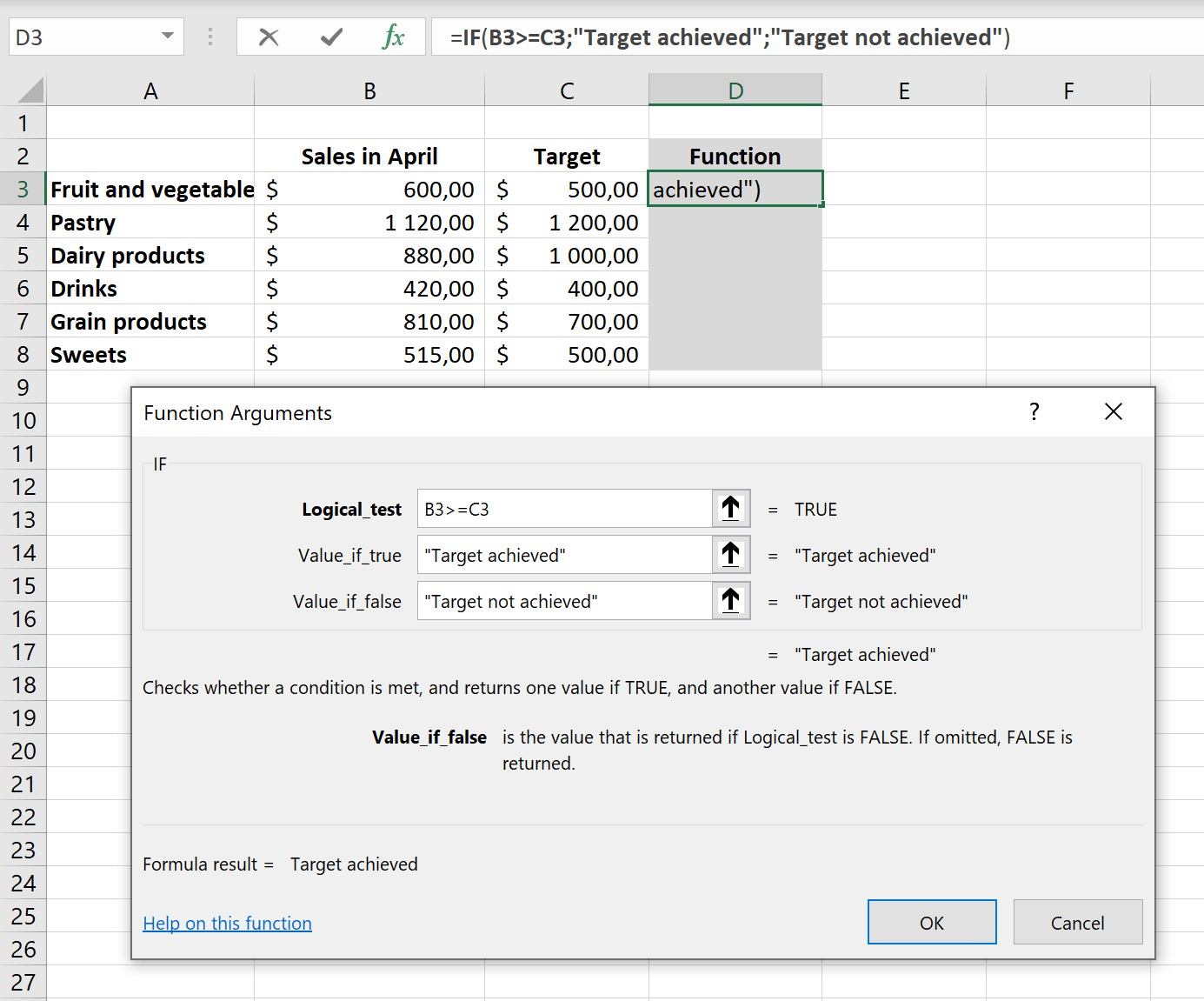 20 Excel functions for beginners   Excel Academy
